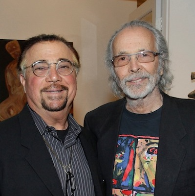 Herb Alpert and Robert Berman at Herb Alpert's