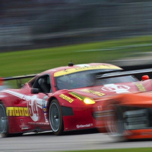 The Number 63 GT Scuderia Corsa